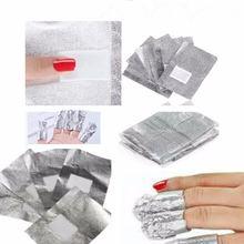 Оптовая продажа высокое качество 100 шт 200 фольга для ногтей