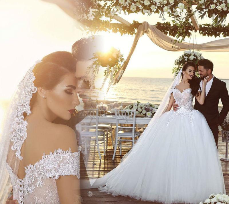 eccf56e9605 Vestidos De Novia Floor Length Peacock Wedding Dress 2016 Beading White  Bridal Dress Hts One Nardin 2016