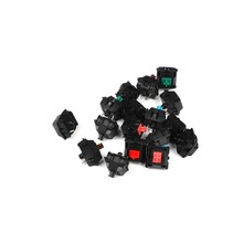 Wholesales Authentic Cherry mx switch 3 pin Mechanical keyboard brown blue red white clear silver Switches