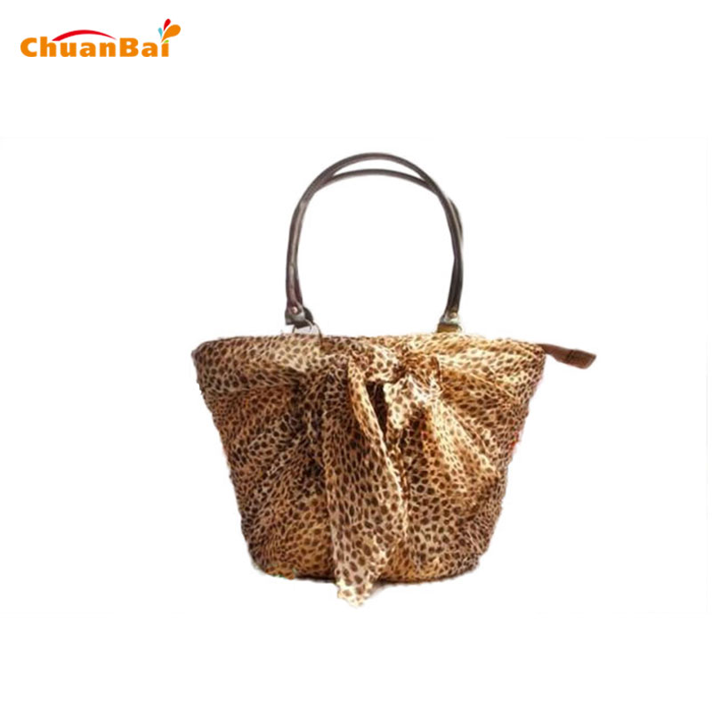 ФОТО 2016 Women Messenger Bags Grass Handbag Fashion Handbags Women Bag Leopard Print Womens Shoulder Bags Purses And Handbags CBP113