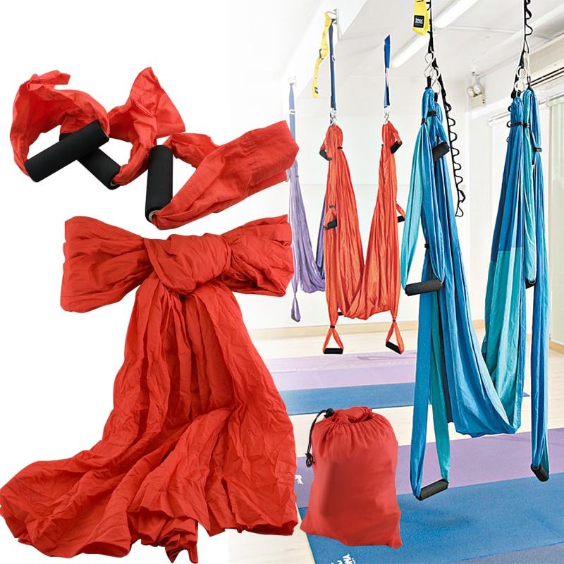 ФОТО New Large Bearing Yoga Swing Sling Hammock Trapeze for Joyful Yoga Inversion Tool hammock