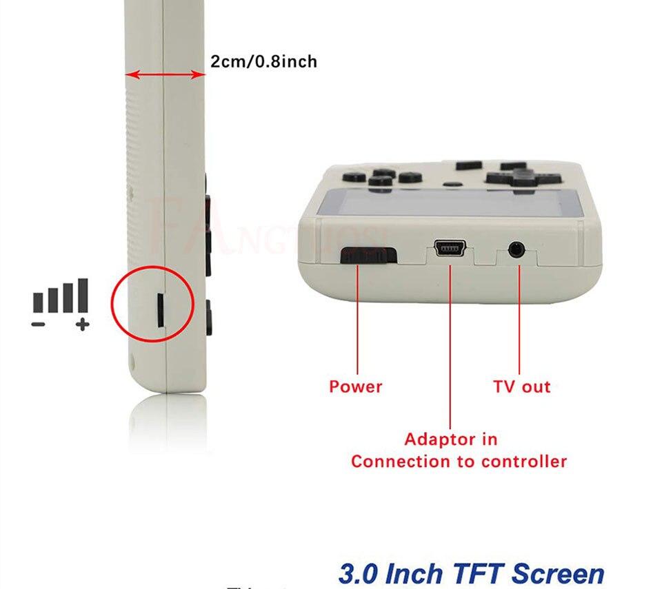 Consola de videojuegos FANGTUOSI 8 bits 11