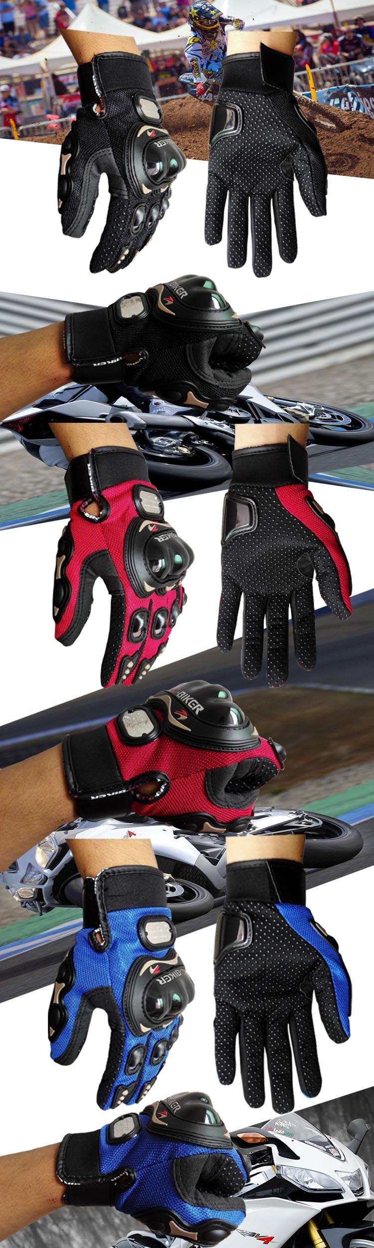 motorcycle gloves show