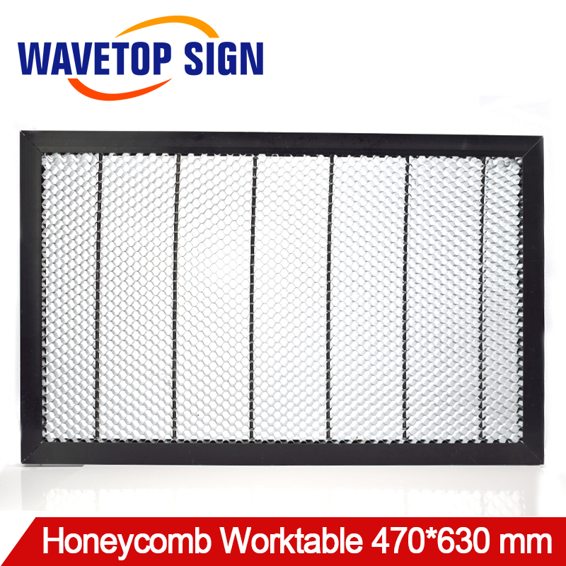 Working Table 470*630 mm Customizable Size Board Platform Laser Parts for CO2 Laser Engraver Cutting Machine co2 laser machine laser path size 1200 600mm 1200 800mm