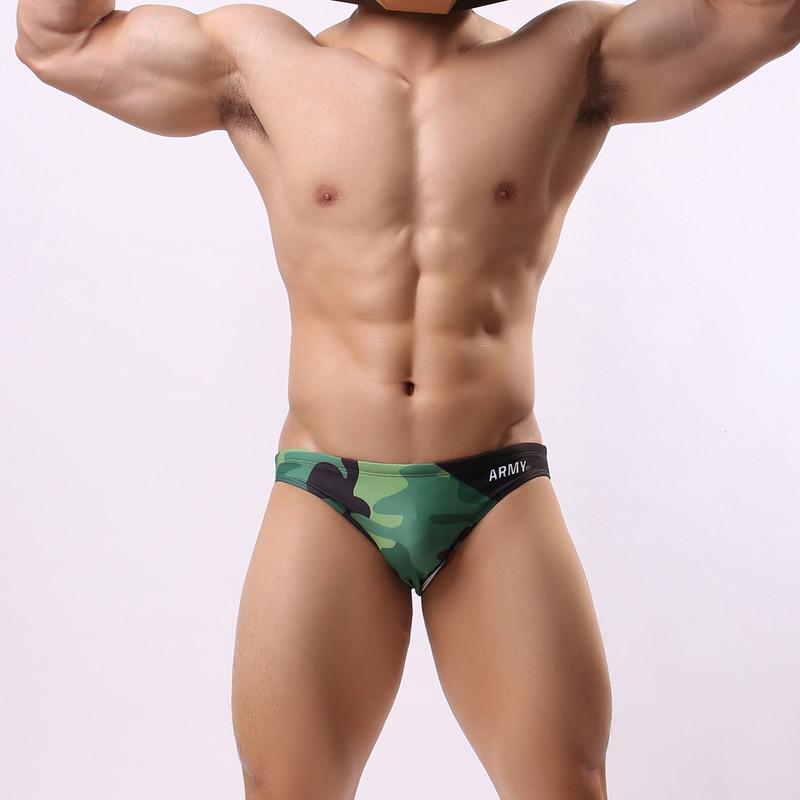 Swim Briefs Board Shorts Bikinis Tight Low-Waist Sexy Beach Summer New Sunga Men Spa