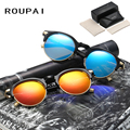 Fashion Polarized Sun Glasses Female Round Spectacles UV400 Vintage Driving Shades Alloy Sunglasses for Women