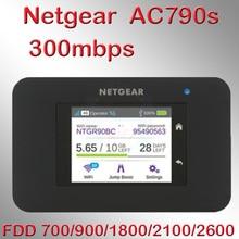 Разблокированный cat6 300 Мбит/с netgear AC790S Aircard 790s 4g lte мобильный роутер Wi-Fi ключ 4G LTE Карманный wifi-роутер 4g lte маршрутизатор с sim-карта для автомобиля