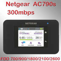 Entsperrt cat6 300mbps netgear AC790S Aircard 790s 4g lte mifi router dongle 4G LTE tasche wifi router 4g lte router mit sim auto