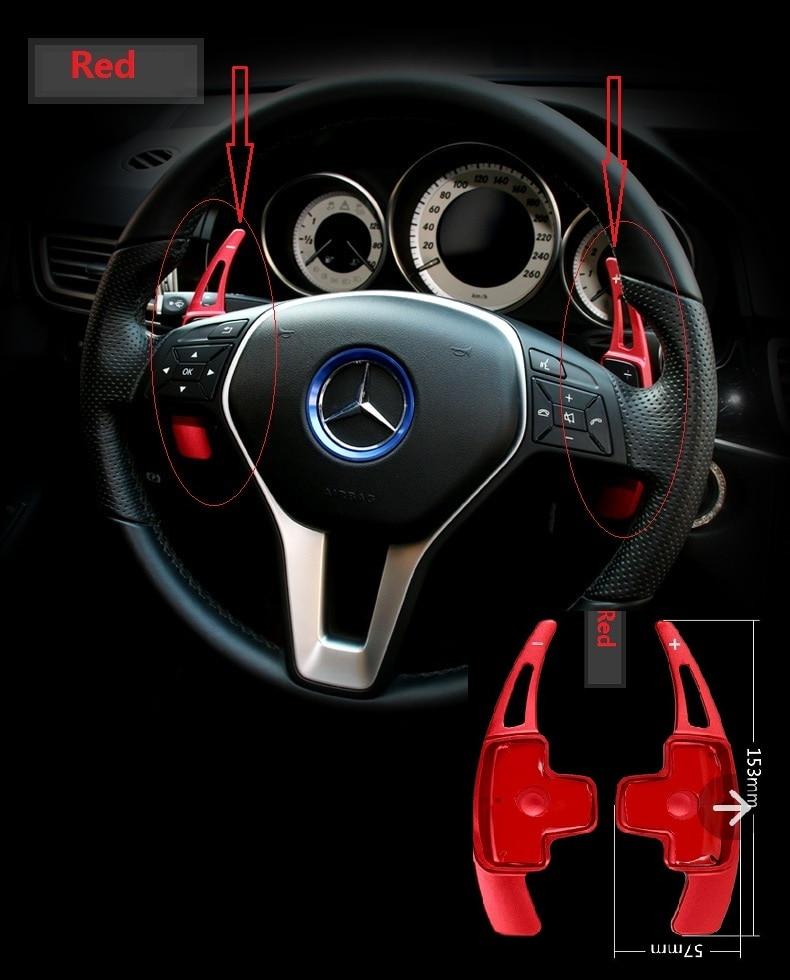 Prix pour Voiture de changement de volant paddle pour Mercedes Benz A/B/C/E/G/GLK GL ML classe (Ne pas fit pour AMG modèle de voiture)