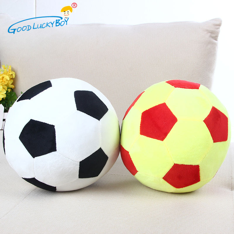 Toys & Hobbies Soccer Sports Ball Throw Pillow Stuffed Soft Plush Toy For Toddler Baby Boys Kids Gift Soccer Ball Stuffed Plush Pillow Toys