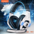ZEEPIN Sades SA-903 7.1 Surround Sound channel USB Gaming Headset Wired Headphone with Mic Volume Control Noise Cancelling