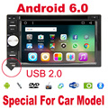 2 din Android 6.0 car radio gps car radio for Nissan radio Quad Core Head Unit HD Built-in GPS Navigation autoradio 2din