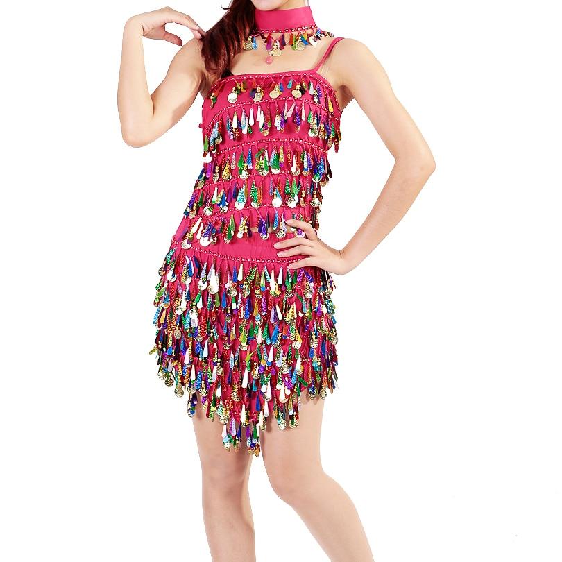 Изпълнение Дамски дрехи за танци Salsa - Дрехи за сцена и танц - Снимка 4