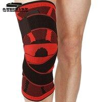 1 unids rodilla Protecciones de deporte rodillera Baloncesto fútbol rodilleras entrenamiento elástico Cintas rodilla pantorrilla rodilla protección