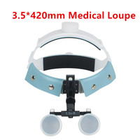 3 5X R Dental Surgical Medical Headband Binocular Loupes Glasses Magnifier Bullet Points