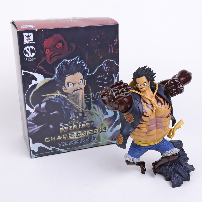 Anime Scultures Big One Piece Sir Crocodile Pvc Figure Collection Bany Toys Monkey D Luffy Mr0 Action Figure 13.5cm Gifts Csh51 Action & Toy Figures