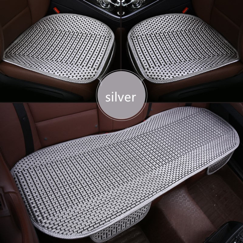 3Pcs/set Breathable Universal Size Car Cushion Pad Fit For Most Cars Summer Cool CAR Seats Cushion Spring General Car seat cover