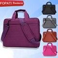 Luva do portátil 15.6 ''backpack tablet pc saco ocasional saco da forma bolsa de proteção para apple macbook air 12 13 15.6 saco ''shoudler