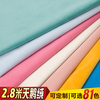 2019 Direct Selling Curtain Free Shipping 2.8m Dutch Velvet Curtain Finished High grade Pure Color Thick Shaded Stage Fabrics