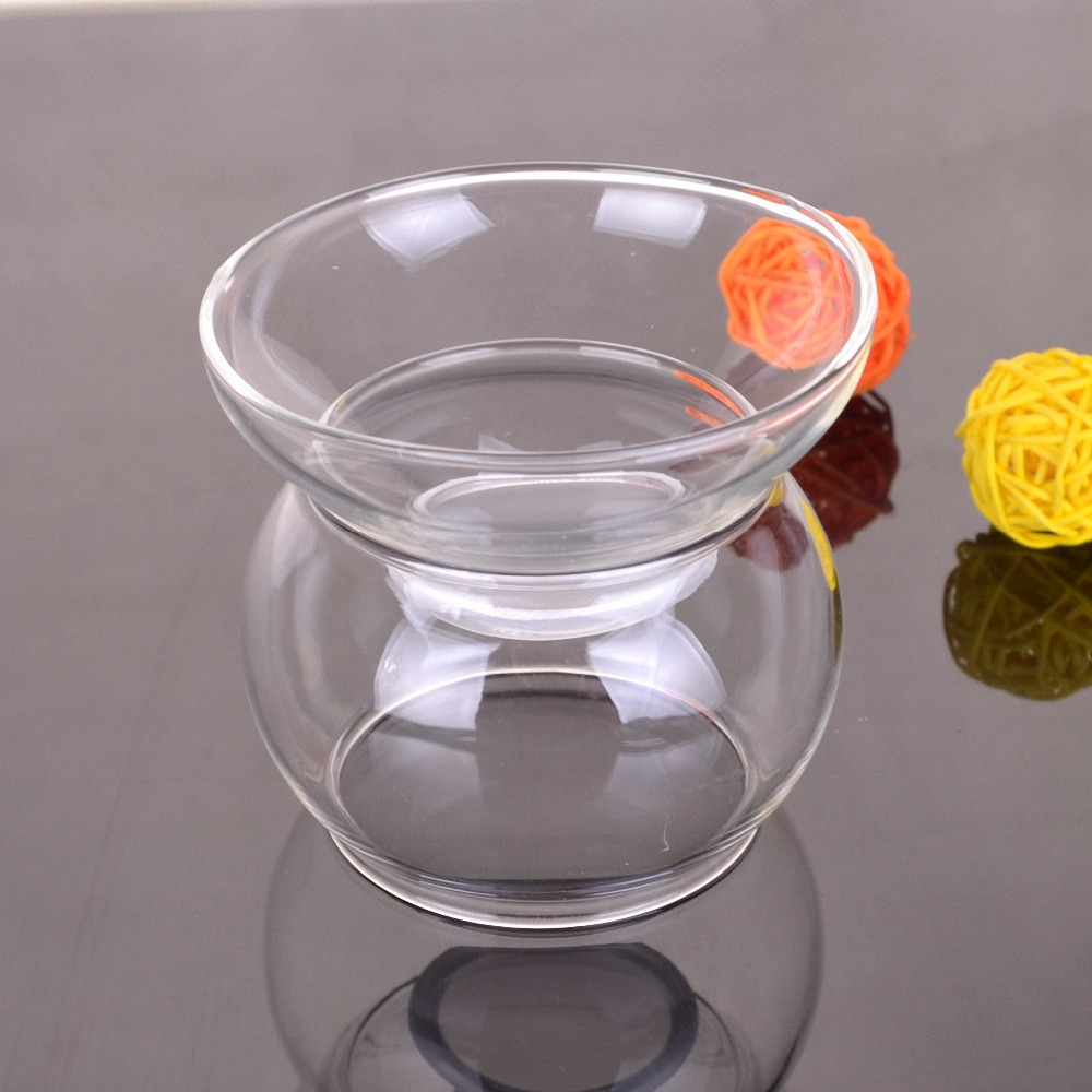 Clear Glass Strainer with Stand Transparent Glass Tea Filter Tea Infuser