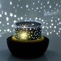 Moda Rotativo LED Modo 3 Lâmpada de Projeção Estrela Luz Noturna Inteligente Lâmpada Oceano Decoração CONDUZIU a Luz