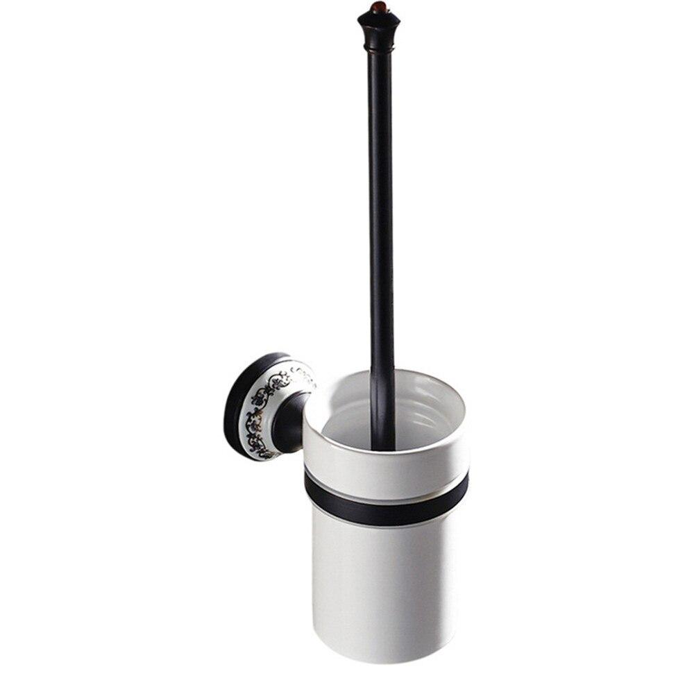 Comprar Leyden ORB latón accesorios de baño sola barra de toalla anillo titular gancho para baño Hardware de Accesorios de baño fiable proveedores en Leyden Goodbath Store