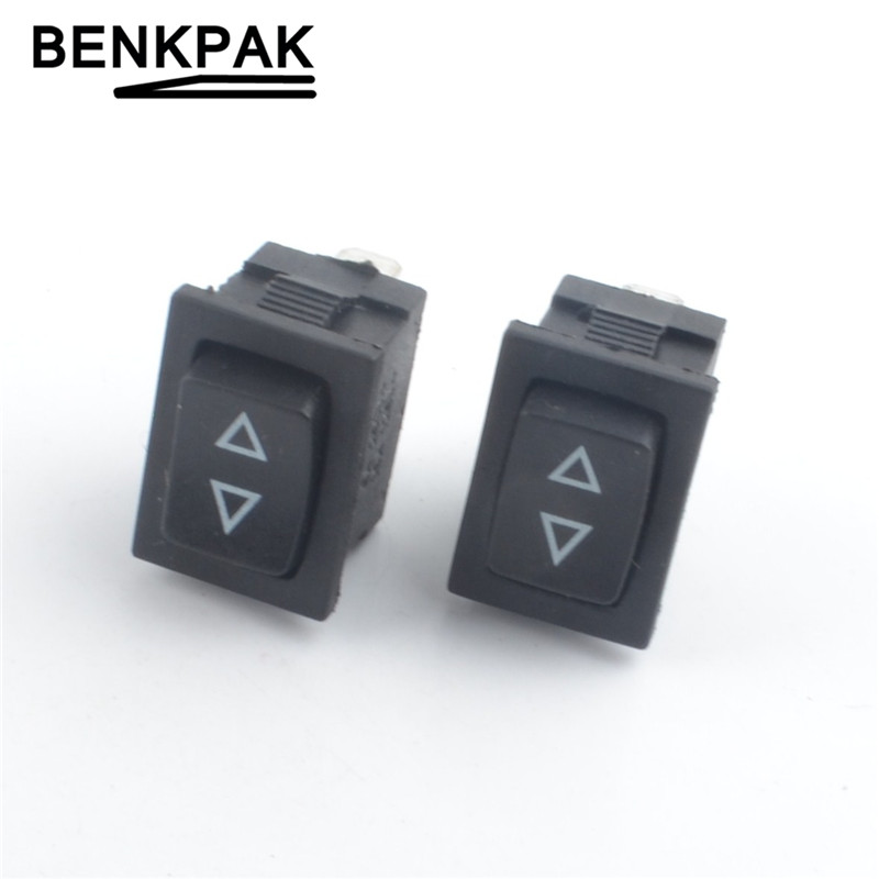 On Off On 2 Position Centre Off. Momentary Long Rectangle Rocker Switch