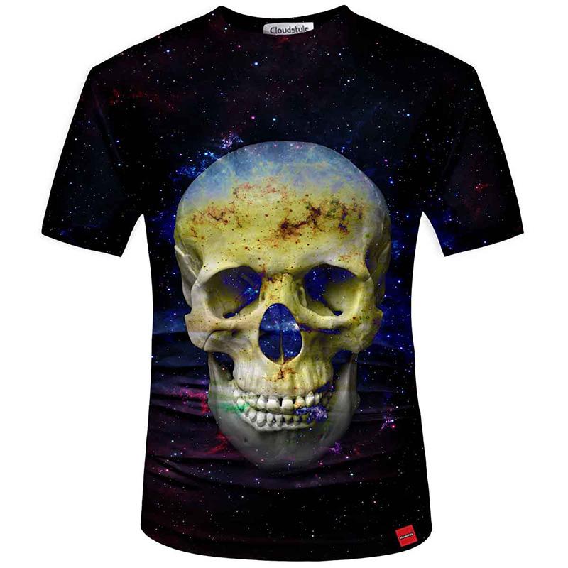 HTB1HQiCSFXXXXbUaXXXq6xXFXXXY - Men's New Fashion 2018 - Quality 3D Skull Print Design Stylish Casual T-Shirt