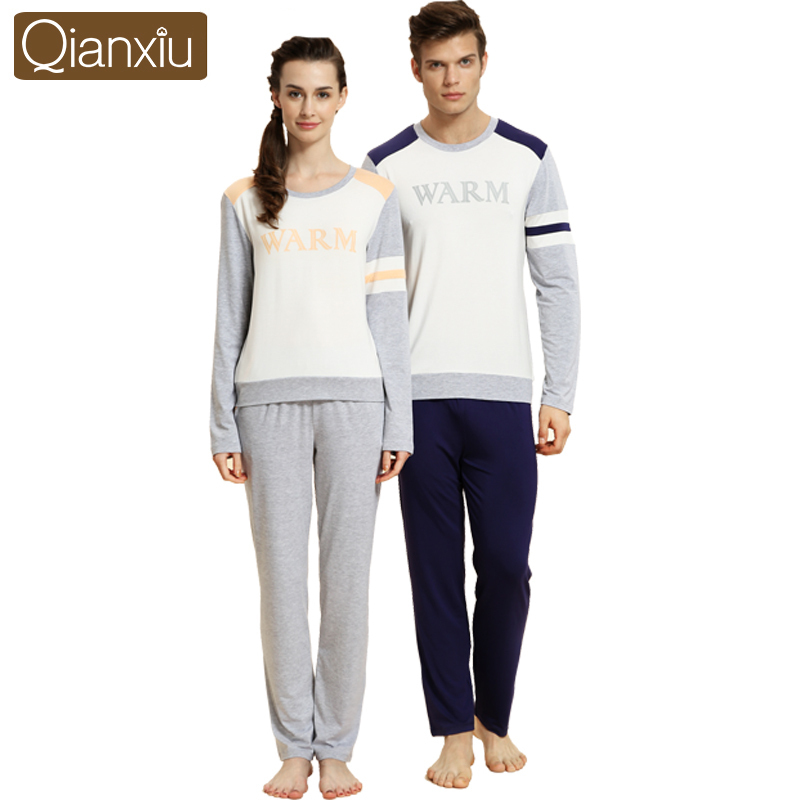 Brand High Quality Mens Womens Knit Cotton Sleepwe...