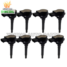 8 PCS IGNITION COIL FOR MERCEDES BENZ C E S M R CLASS CLS CLK SL  W204 W211 W221 W212 V221 6.3L (06 14)1561500080 1569060600