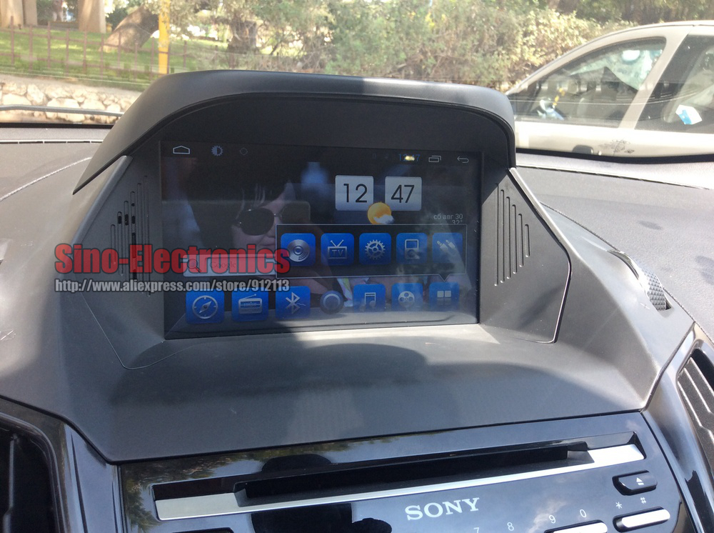 android 6 0 car dvd gps for ford kuga 2013 with. Black Bedroom Furniture Sets. Home Design Ideas