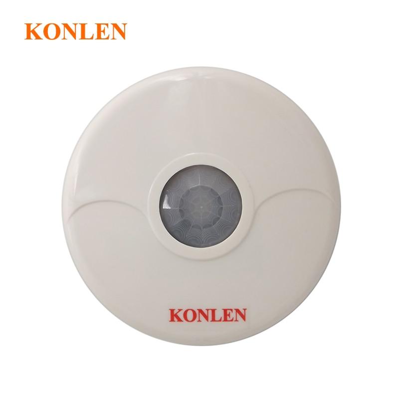 bilder für Hohe qualität deckenhalterung dual tech infrarot drahtlose pir motion sensor detektor 360 erkennung grad 433 mhz