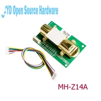 5pcs MH Z14 Carbon Dioxide Sensor Module Used In Agricultural Greenhouse CO2 Detection Air Quality Testing