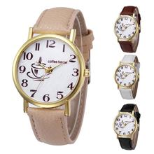 Watch Women Clock Newly Retro Design Leather Band Analog Alloy Quartz Wrist Watch Popular Temperament Lady Dress Reloj Mujer M5