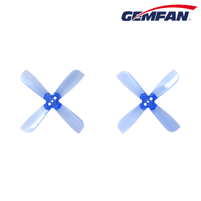 Gemfan <font><b>2035</b></font> <font><b>Propeller</b></font> 4Blades BN-PC Square 3mm Hole CW CCW <font><b>Propeller</b></font> for 0806 Moto for Mini Race Drones Quadcopter DIY Drone FPV image