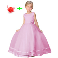 Childrens Clothing Summer Kids Sleeveless 3 Layers Girls 4 12 Years Evening Wear Dresses For Weddings