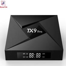 TX9 פרו טלוויזיה תיבת אנדרואיד 7.1 RAM 3GB ROM 32GB Amlogic S912 אוקטה Core 2.4G & 5G הכפול WiFi Bluetooth4.1 1000M LAN 4K ממירים