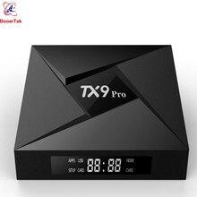 TX9 Pro TV Box Android 7.1 RAM 3GB ROM 32GB Amlogic S912 OCTA Core 2.4Gและ 5G Dual WiFi Bluetooth4.1 1000M LAN 4Kชุดกล่องด้านบน