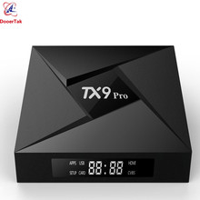 TX9 Pro TV Box Android 7.1 RAM 3GB ROM 32GB Amlogic S912 Octa Core 2.4G & 5G Dual WiFi Bluetooth4.1 1000M LAN 4K Set top Boxes