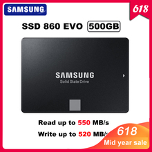 Original SAMSUNG SSD 860 EVO 500GB Internal Solid State Disk HDD Hard Drive SATA3 2.5 inch Laptop Desktop PC MLC disco duro 500G цена