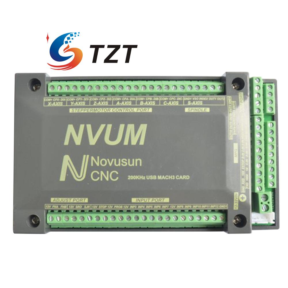 200KHz 3/4/5/6 Axis CNC Controller USBMACH3 Interface Board Card for Stepper Mot