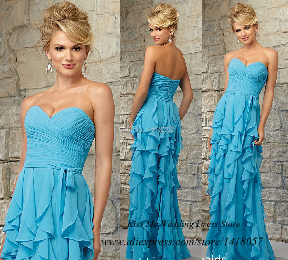 Online buy wholesale dresses for beach wedding guests from for Turquoise bridesmaid dresses for beach wedding