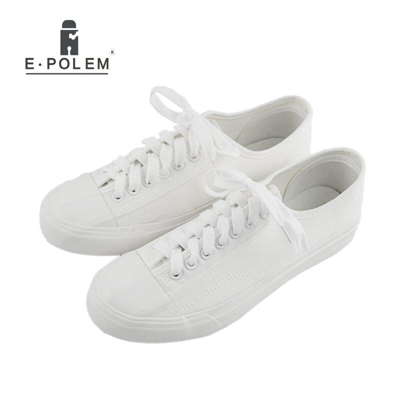 Escola Verão Fahsion Salto Lace 2018 De Estudante Flats Lona up Men Respirável Black Baixo Casual Sapatas Sapatos White pfS5xSndZ