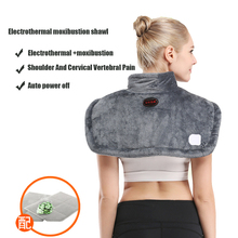 Electric Neck Moxibustion Shawl Shoulder Warm Heating Pad Hot Compress periarthritis relief Multiple protection health care