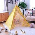 Новый Бобо Выбирает Lemon Желтый Дети Дети Играют Игрушки Играть Дома Девочек Принцесса Королевства Палатки Для Детей Играть Палатки Вигвама