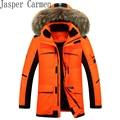 Dos homens livres do transporte para baixo casaco de inverno 2017 moda jaqueta grande homem no inverno quente parka Espessamento jovem 255hfx