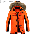 Free shipping Men's down jacket winter 2017 fashion big warm parka Thickening young man in winter jacket 255hfx