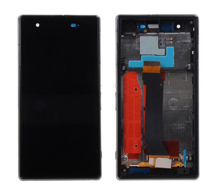 Подробнее о Free DHL/EMS 10 pcs/lot 100% Test LCD Display + Touch Screen Digitizer Assembly For Sony For Xperia Z1S L39T with Frame Black wholesale black and white lcd screen display and touch screen digitizer assembly for sony for xperia m5 free dhl ems shipping