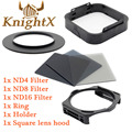 KnightX 49 - 82mm Grad Filter series ND Filter Holder for Cokin P For nikon canon Color 100d d5300 d3100 t3i t5i T5 700d d5500