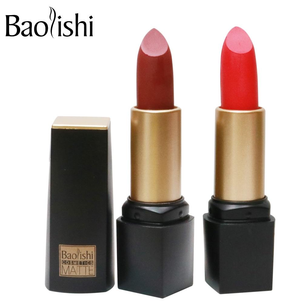 baolishi Nouvelle Marque Rouge À Lèvres Sain Hydratant Doux Lèvres - Maquillage - Photo 5